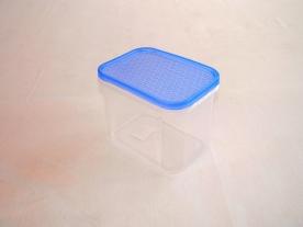 Hasáb alakú műanyag tárolódoboz 1 l