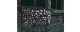 Home LED-es fényfüggöny hidegfehér, sorolható (KTF 200/WH)