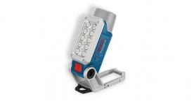 Bosch akkumulátoros munkalámpa GLI DeciLED akkumulátor és töltő nélkül (06014A0000)