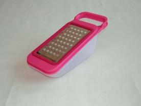 Tökreszelő műanyag tárolóval, pink