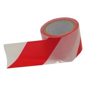 Extol Craft jelölő szalag, piros-fehér 75mm×100m (9565)