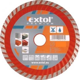 Extol Premium gyémántvágó TURBO gránit/kerámia 230×22,2mm (108755)