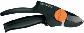 Fiskars PowerGear forgónyelű metszőolló, rávágó (111510)