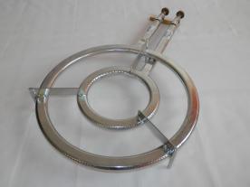 PB gázégő kétkörös, két gázcsappal (13686)