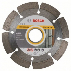Bosch Standard for Universal gyémánt darabolótárcsa, 115-22,23 (2608602191)