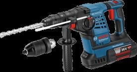 Bosch GBH 36 VF-LI Plus akkus fúrókalpács L-Boxx-ban (0611907002)