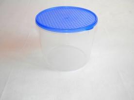 Mércés, műanyag ételdoboz hengeres 2,0 L