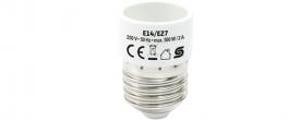 Home foglalatátalakító adapter (E14/E27)