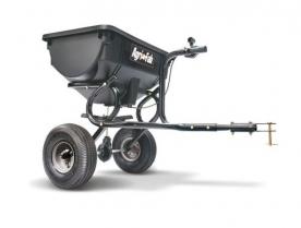 WOLF-Garten vontatható univerzális szórókocsi 34 kg fűnyíró traktorhoz (196-031-000)