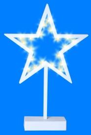 Home LED-es dekoráció, csillag  (KAD 15)
