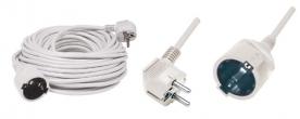 Home hálózati hosszabbító, 3 m (NV 2-3/W)