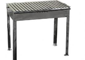 Grillsütő rozsdamentes szögletes H450 (14861)