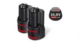 Bosch 10,8 V-os 2,0 Ah-s akkukészlet Professional (1.600.Z00.040)