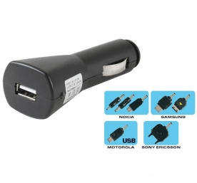 SAL autós/mobil USB-töltő szett (SA 021)