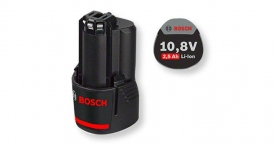 Bosch akkumulátor GBA 10,8V 2,5Ah O-B