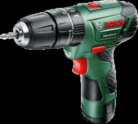 Bosch PSB 10,8 LI-2 lítium-ion akkus ütvefúró-csavarozógép (0603983923)