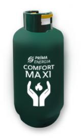 Comfort Maxi propán palack 25 kg - időszakos fűtésre, melegvíz előállításra - gáztöltet