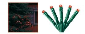 Home LED-es fényfüzér piros, kültéri (KKL 208/RD)