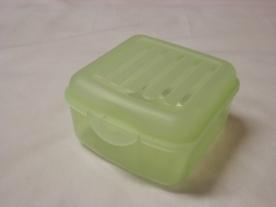 Csatos műanyag doboz 0,8 liter, kék