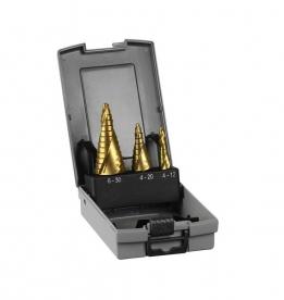Bosch 3 darabos lépcsős fúró készlet HSS-TiN (2608587432)