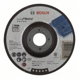 Bosch Best For Metal nagyolótárcsa hajlított, A 2430 T BF 125 mm (2608603533)