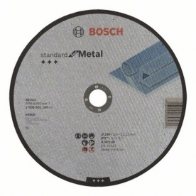 Bosch Standard for Metal darabolótárcsa egyenes, AS 46 S BF, 230 mm, 22,23 mm, 3 mm (2608603168)
