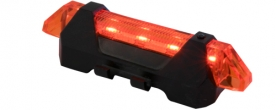 Home LED-es kerékpárlámpa, tölthető (BV 14/RD)