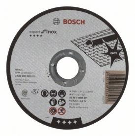 Bosch Expert for Inox daraboló tárcsa egyenes, AS 46 T INOX BF, 125 mm, 22,23 mm, 1,6 mm (2608600220