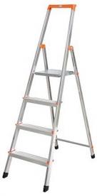 Krause Monto Solidy állólétra 4 lépcsőfokos  (126221)