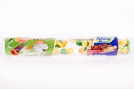 Perforált frissentartó fólia vékony Rollbox 100 db citrom mintás