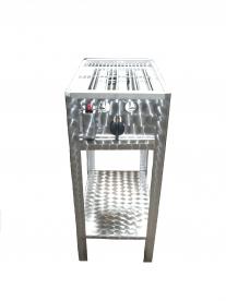 BGS-1 egyégős álló grillező készülék, földgáz üzemű
