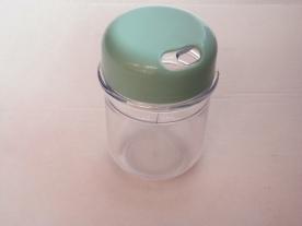 Fűszerszóró mentaszínű műanyag