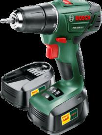 Bosch PSR 1800 LI-2 akkus fúrócsavarozó 2 db akkuval (06039A3121)