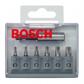 Bosch 7 részes bitkészlet Extra kemény (Security Torx) (2607019304)