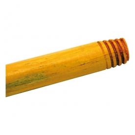 Lakkozott fa nyél 120 cm, olasz menettel (343004)