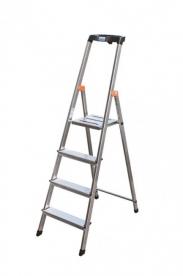 Krause Monto Safety állólétra 4 lépcsőfokos (126320)