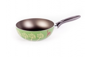 TVS Easy Pretty wok serpenyő zöld 20 cm