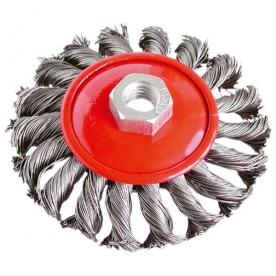 Extol drótcsiszoló körkefe (tányérkefe) 0,5 mm (17012)