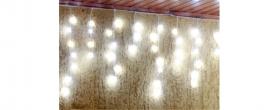 Home LED-es fényfüggöny hidegfehér, kültéri (KAF 100L 3M)