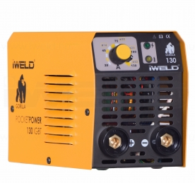 Iweld Gorilla Pocketpower 130 elektródás hegesztő inverter