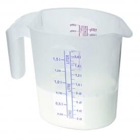 Mércés, ovális műanyag kancsó 1,5 l