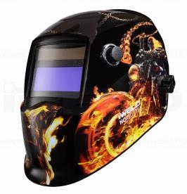 Iweld Nored Eye II automata hegesztő fejpajzs (tűz-motor)
