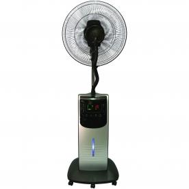 Home párásító ventilátor, ezüst 90 W