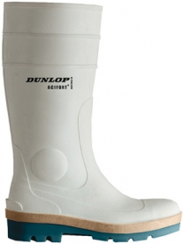 Dunlop Acifort Tricolour gumicsizma, kétrétegű talppal, fehér, 42-es (GAND95142)