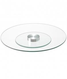 Forgatható tortatál üveg 34 cm (28376)