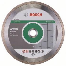 Bosch Standard for Ceramic gyémánt darabolótárcsa Kerámia , 230-22,23 (2608602205)