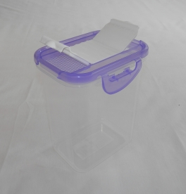 Fűszertartó szóró tetővel, lila műanyag 2 kg