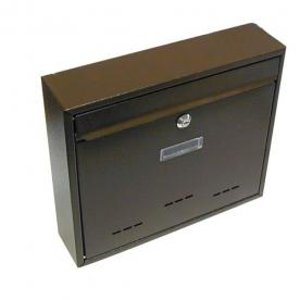 G21 RADIM nagy postaláda 310x360x90 mm, barna