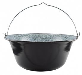 Zománcozott gulyás bogrács 14 L (71009)