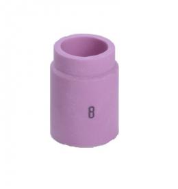 Kerámia gázlencsés gázterelő fúvóka 8-as, 12,5 mm SR9/20/24-hez